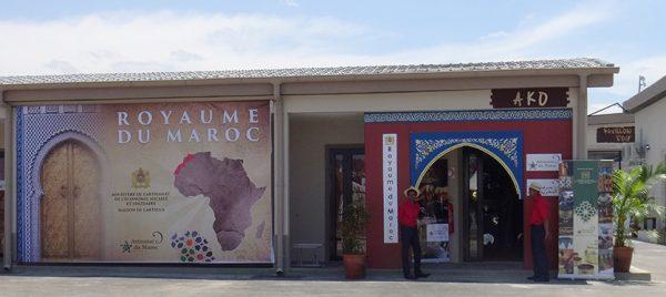 Stand du Maroc. Village de la Francophonie. Crédit photo : Samantha Tracy.