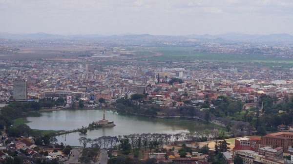 Vue depuis la ville Haute - Crédit photo : Mathias V / Mondoblog. Antananarivo 2016