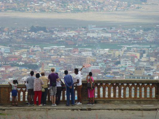 Vue sur Tana. Vrédit photo : Clara Delcroix / Mondoblog. Antananariov 2016