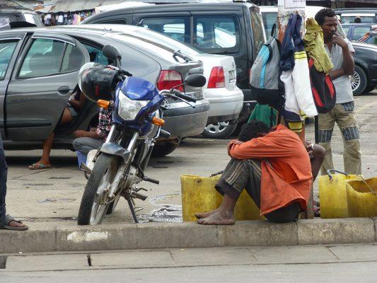 Rue de Tana - Crédit photo : Clara Delcroix / Mondoblog. Antananarivo 2016
